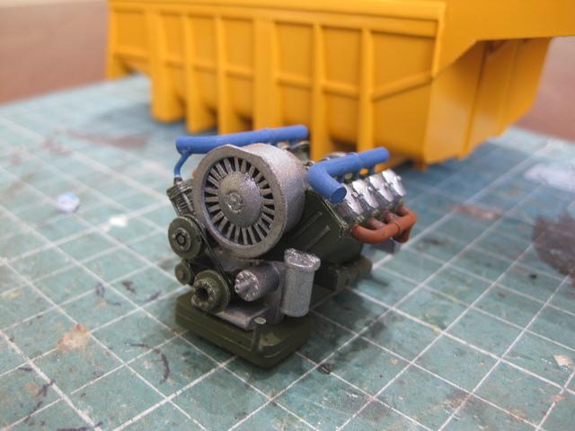 Копия двигателя машины татра