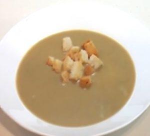 Суп пюре из печенки
