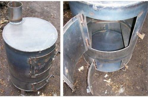 Печка буржуйка для дачи