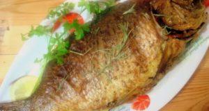 Рецепт фаршированного карпа запеченного в духовке