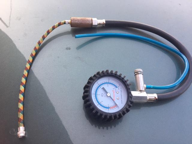 Переходник проверки топливных насосов