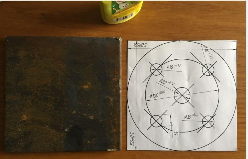 Наклека чертежа съемника барабана рено логан