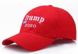 Бейсболка трамп красная 2020
