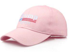 Бесболка Трамп светло розовая