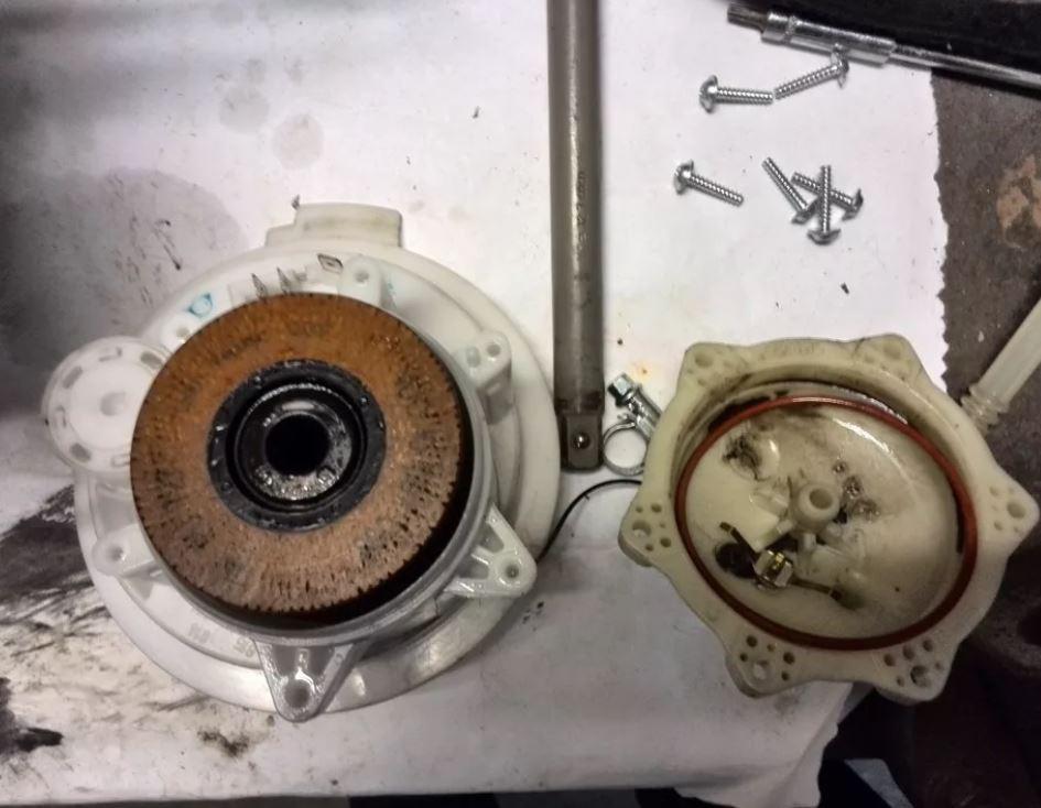 Топливный фильтр Туарега