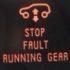 stop fault running gear
